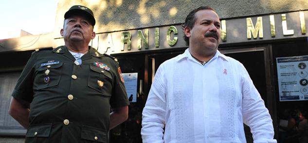 Ratifica Alcalde colaboración con el Ejército
