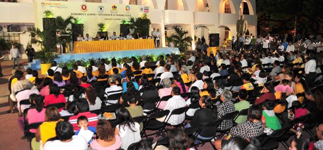 Con 172 mdp en obra pública, en el 2012 se marcará récord de inversión, asegura Ricalde