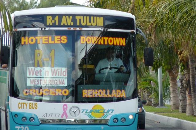 EN PUERTA, ALZA AL TRANSPORTE: Alista Cabildo de BJ votación para subir un peso a las tarifas del pasaje en Cancún