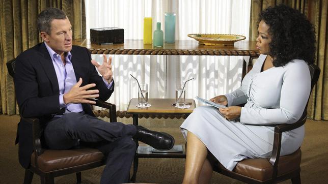 Sólo dopado se puede ganar el Tour de Francia 7 veces, dice Lance Armstrong a Oprah Winfrey