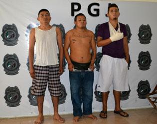 Ya está formalmente en prisión un trío de 'Pelones' por ejecución en Puerto Morelos