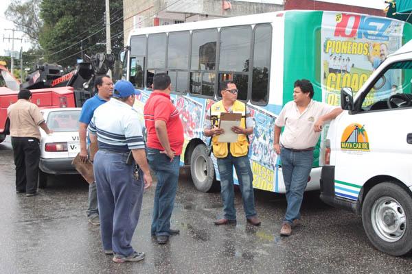 Se reservan jefe policíaco y director de tránsito derecho a declarar ante denuncia de Maya Caribe