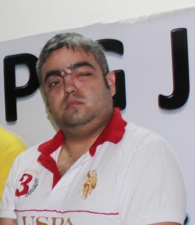 """Héctor Cacique Fernández (a) """"El Diablo""""."""