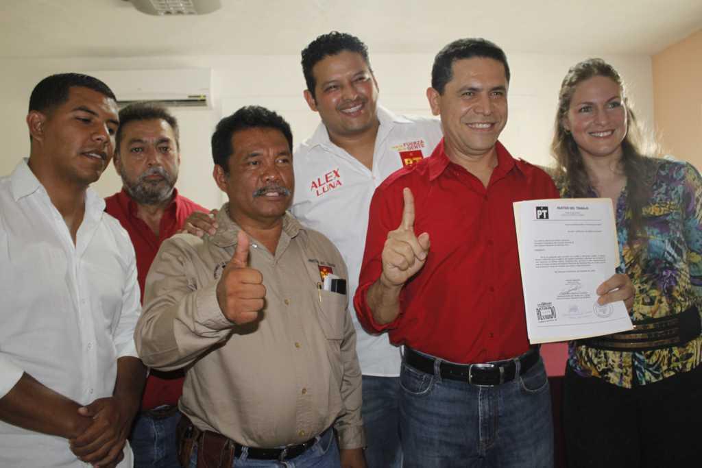 Acaparan Greg Sánchez y parentela candidaturas del PT y hasta Niurka Sáliva se apunta para diputación