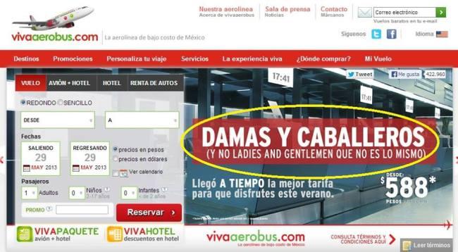 BOFETADA CON GUANTE BLANCO: Lanza VivaAerobus promoción alusiva a la #LadyDelSenado