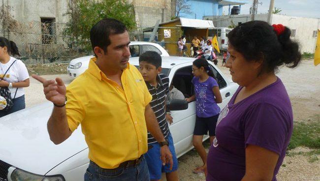 CAMPAÑAS: Propone Aguilar Osorio nueva mayoría en el Congreso para terminar con parcialidad de magistrados
