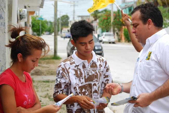 CAMPAÑAS: Provechosa semana de proselitismo de Gerardo Mora en el Distrito X