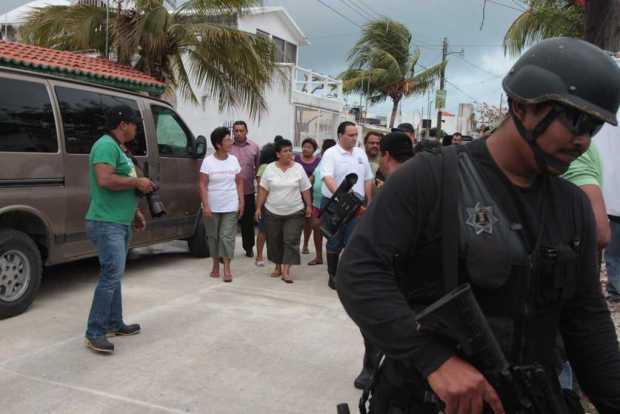 El Gobernador Borge, bajo protección del aparato de seguridad del Estado.