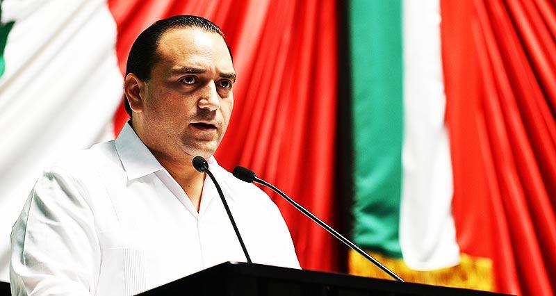 RESIENTE BORGE CRISIS POLÍTICA Y ECONÓMICA:  Suspenden Informe VIP de Gobernador y sólo comparecerá ante el Congreso