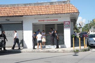 Asaltan casa de cambio en Cozumel