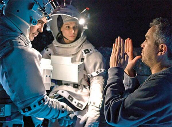 'FLOTA' ALFONSO CUARÓN: Gana el mexicano el Globo de Oro al mejor director por 'Gravity'