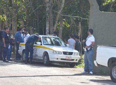 Dan detalles de ejecución de taxista e investigan pistas
