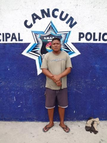 Detienen a 'tirador' en Playa Ballenas