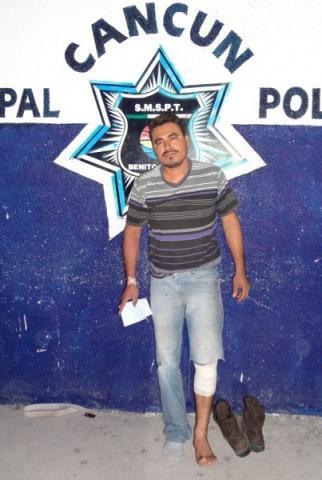 Dejarían libre a policía que hirió con un balazo a un automovilista en Cancún