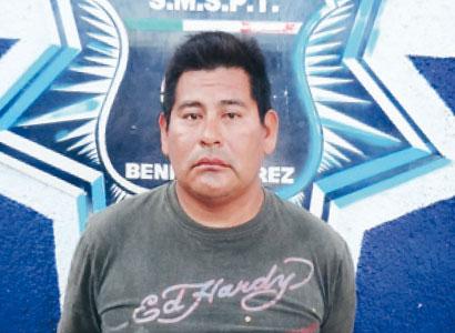 Viola albañil a niña de 3 años en Cancún; policías lo salvan de ser linchado en la colonia Maracuyá