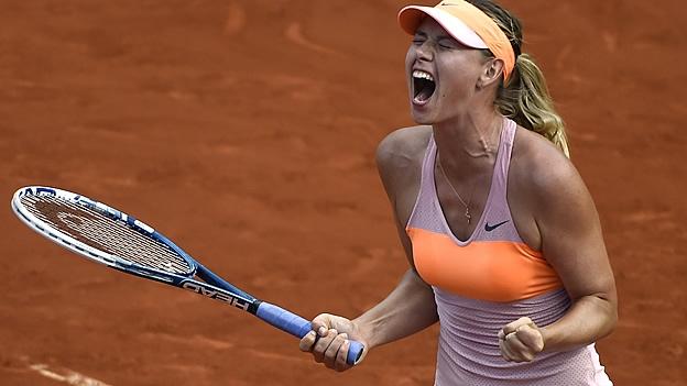 RETIRAN A SHARAPOVA DE LAS CANCHAS: Por dopaje, suspenden dos años a la tenista rusa