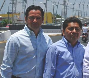 José Luis Toledo y Filiberto Martínez.