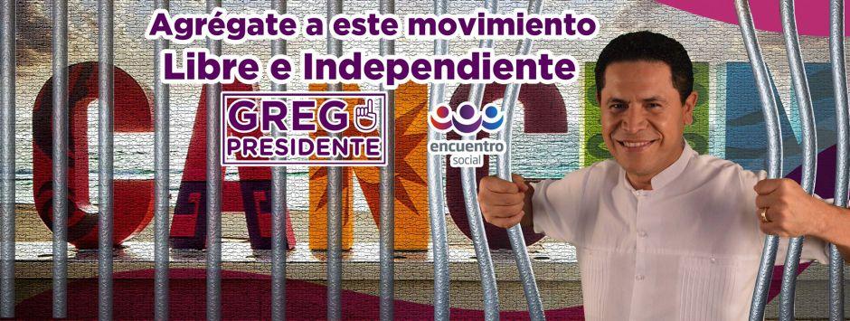 Foto tomada del perfil oficial de Facebook de Gregorio Sánchez.