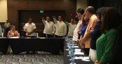 Diputados en la sesión del Congreso realizada en hotel Royalton Riviera-Cancún.