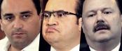 LOS IMPRESENTABLES: Roberto Borge, Javier Duarte y César Duarte.