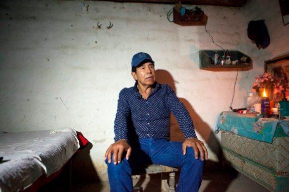 El supuesto ex narco traficante Rafael Caro Quintero durante la entrevista con Proceso FOTO. Miguel Dimayuga